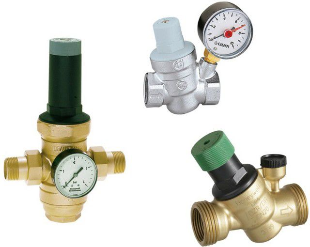 Reducers to stabilize the high pressure water