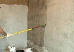 Priming the wall 2