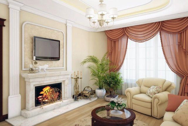 Decorating the living room usually involves soothing colors are designed in a particular style