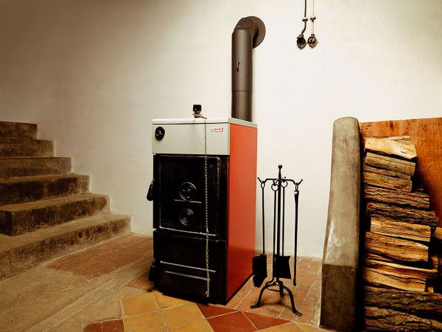 In terms of convenience , the best option - heating with boiler