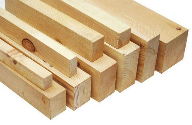 Traditional material for lag - wooden beam