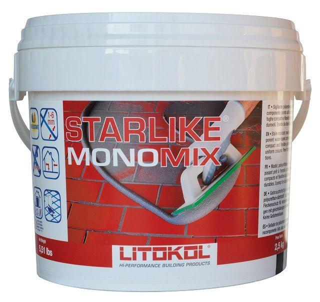 Ready flexible grout based on polyurethane