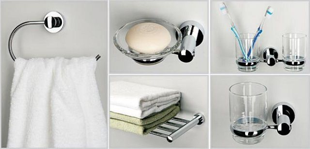 Most often, washbasin accessories purchased Complete