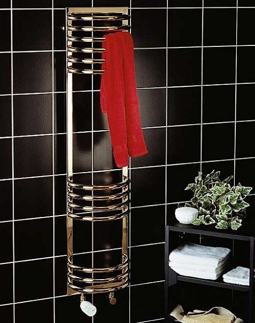 The most effective action - of towel with water or electric heating