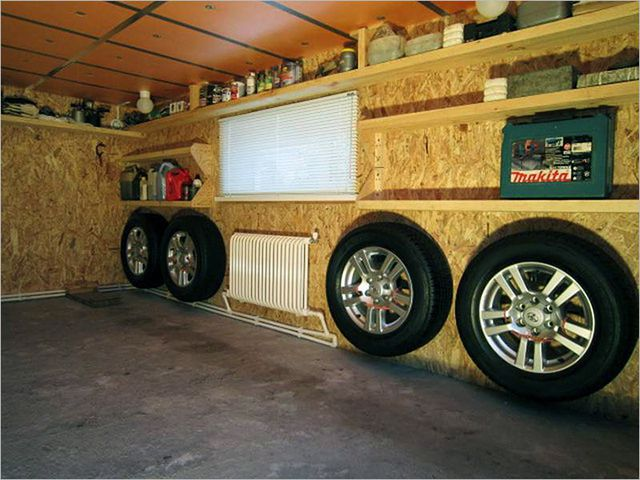 This garage is pleasant and comfortable stay even in the winter cold
