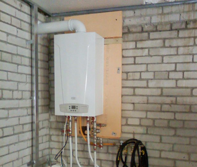 Garage Heating gas boiler - sufficient rarity
