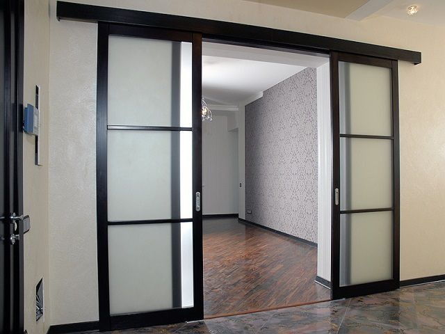 Sliding Doors saves space premises