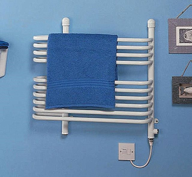 Serious competition water steel towel warmers create electric heating