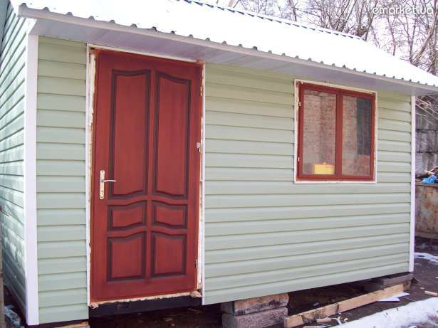 External cladding cabins siding