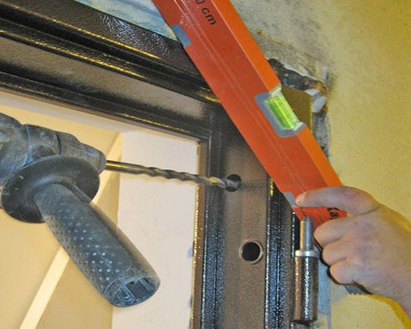 Install fasteners through the web