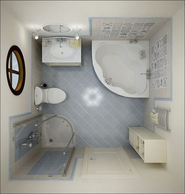 Project future bathroom should be prepared very carefully , with the exact scale