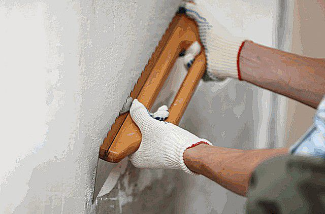 Plastered walls under the wallpaper with your own hands