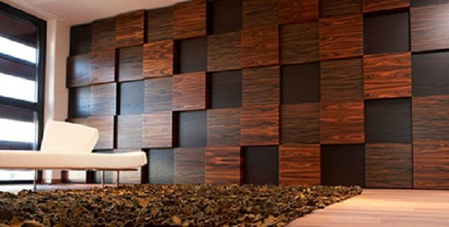 Quality MDF or chipboard panels outwardly difficult to distinguish from the natural material