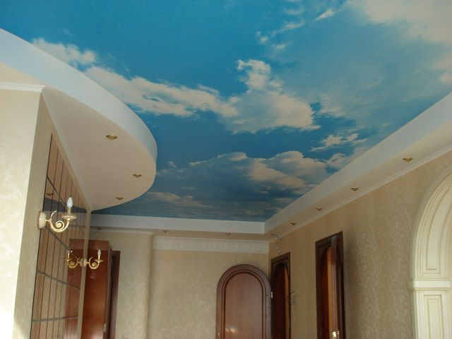 Combined with tension ceilings and gypsum board sections