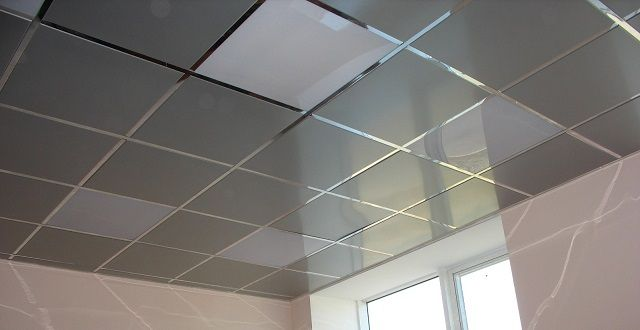 Suspended ceiling , cassette-type