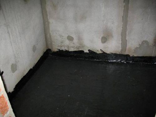 Waterproofing floor