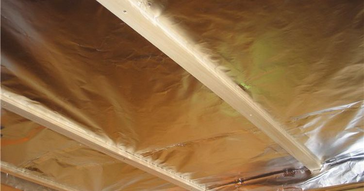 Waterproofing of ceiling