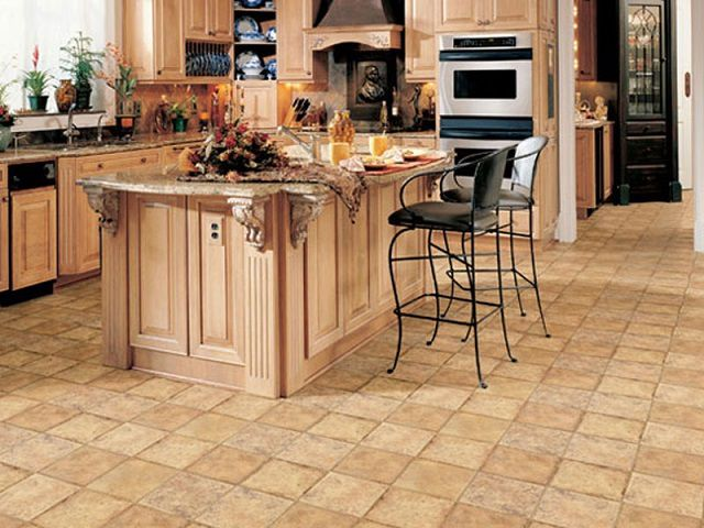 How to choose linoleum for the kitchen