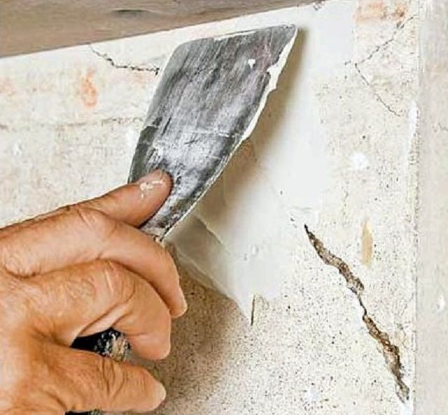 Filling cracks repair pastes