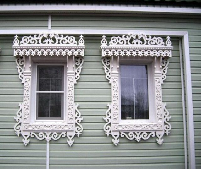 Carved trim can give any home a completely unique look