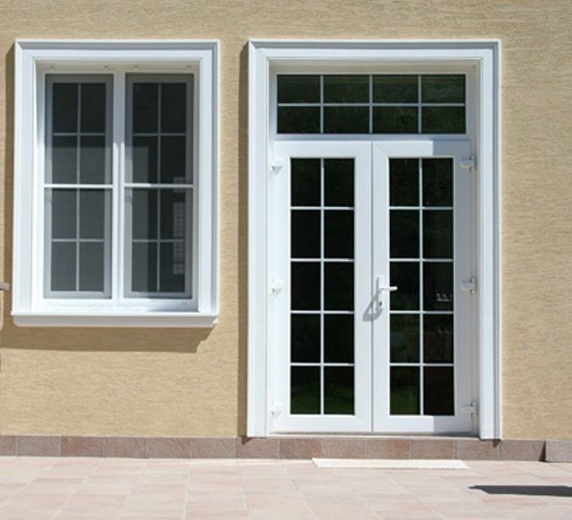 Profiled polyurethane trim if desired can be painted in the desired shades