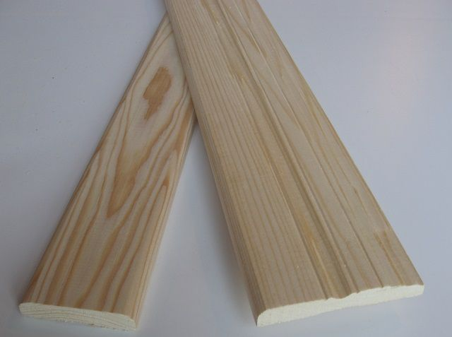 For the manufacture of casings is important to choose high-quality timber