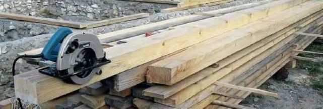 Processing of timber