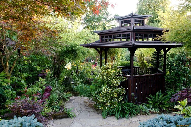 Beautiful gazebo for the garden