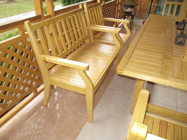 Furniture for gazebo