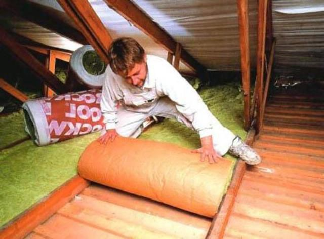 How to properly insulate the ceiling under the cold roof