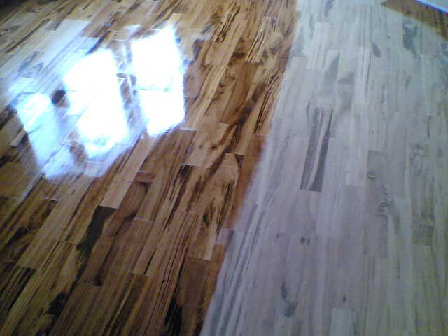 The coating varnish parquet