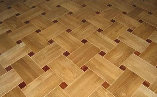 Types of laying parquet