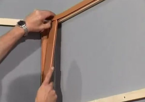Installing trim strips