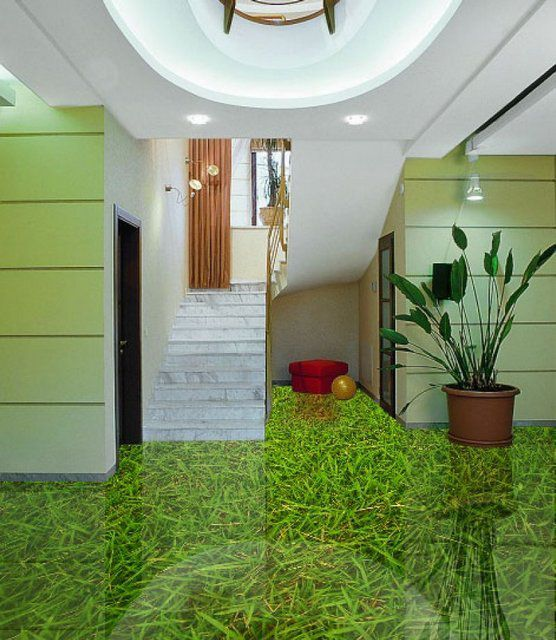3D- floors completely transform the interior of the premises
