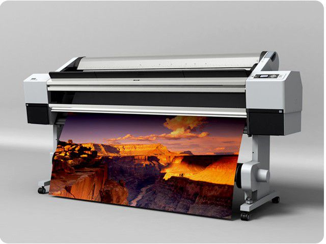 Volumetric image printed in printing on special equipment
