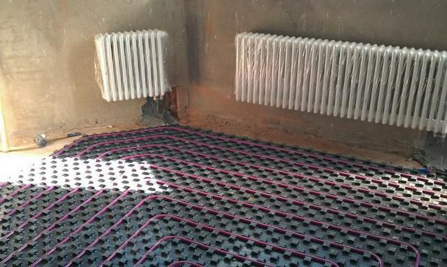 How to warm the floor from heating