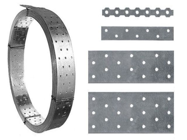 Often come to the aid perforated metal tape