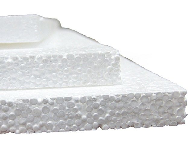 Foamed polystyrene ( foam) - an inexpensive and very efficient thermal insulator