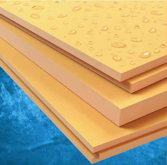 Extruded polystyrene ( Epps ) features high strength with good insulating qualities