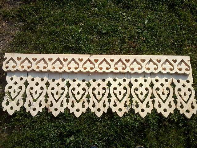 Carved trim