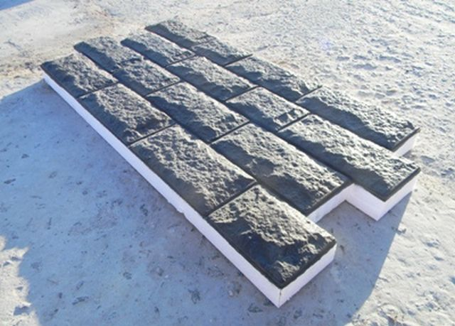 Socle thermopanel - and decorative trim , and reliable insulation