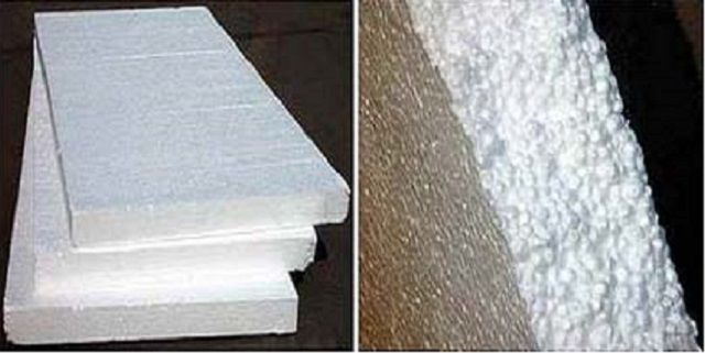 Cheap , but still not the best insulation - polystyrene