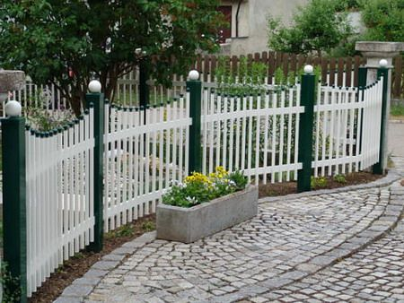 Decorative fences and barriers