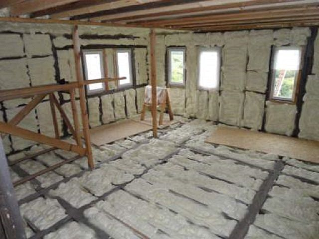 Polyurethane foam is versatile - it can insulate the walls , floor, ceiling , roof , etc.