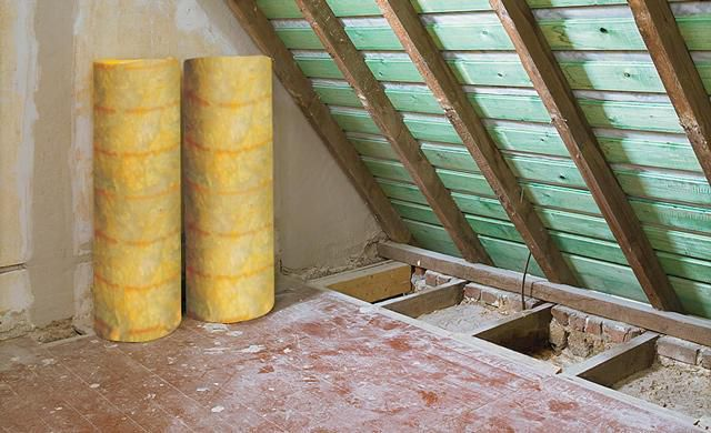 The best choice for roof insulation is mineral wool