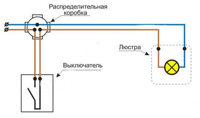 Как подключить точечные светильники схема фото 377