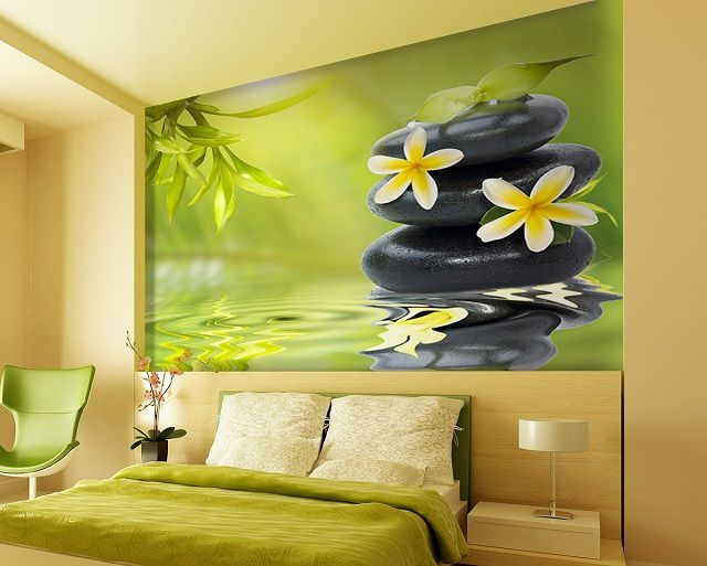 Vinyl wallpapers easily withstand multiple wet cleaning