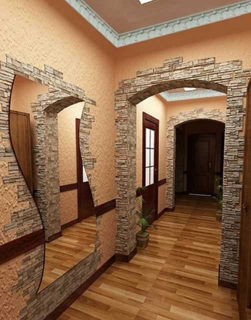 It is advantageous to look trim openings artificial stone