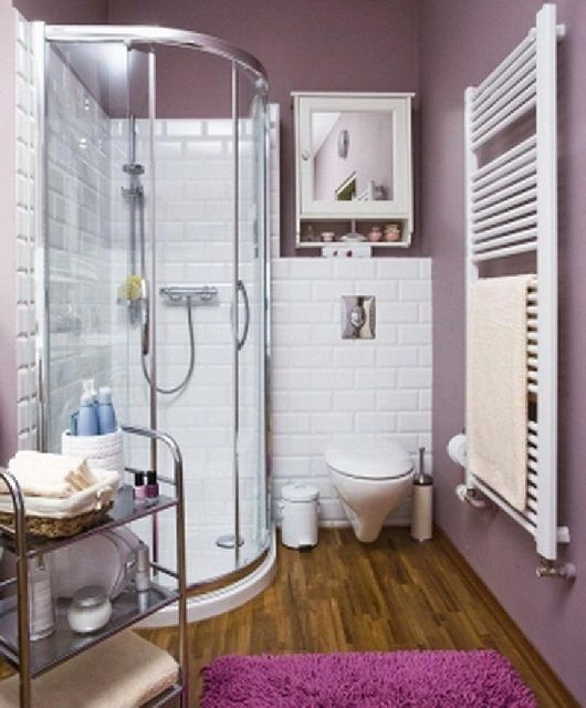 Bathroom with shower design