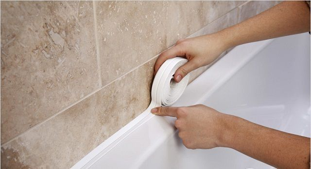 How to install on the plastic corner bath